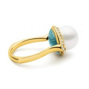 Ascensus Ring Aurora Green YG