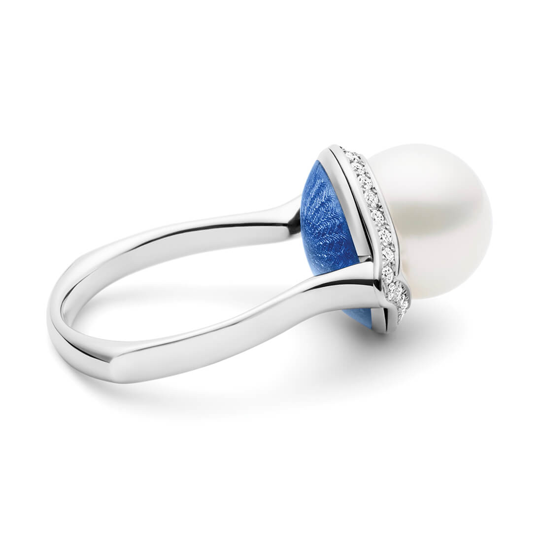 Ascensus Ring Mediterranean Blue, White Gold