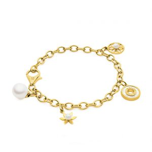 Classics_Gold Charm Bracelet_All Charms_YG