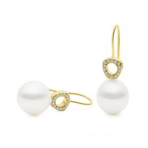 Classics_Hope with Diamond Earrings YG
