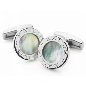 Corporate Gifting_Mother of Pearl Cufflinks_A