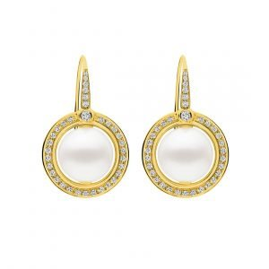 DIVINE EARRINGS_YELLOW GOLD_A