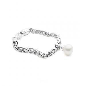 Silver_Geometric Sliding Bracelet_A