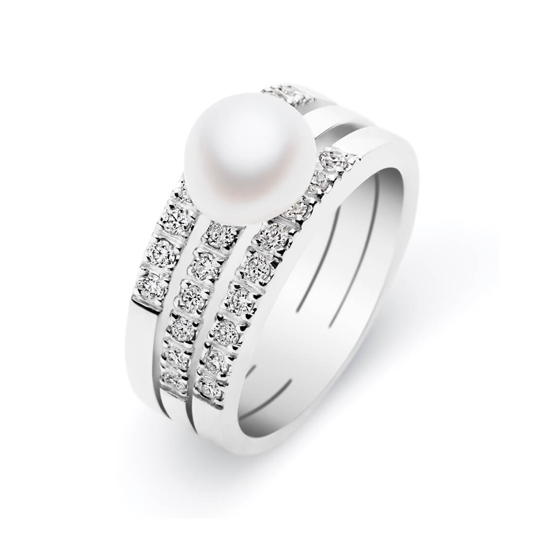 Serendipity Trio Ring