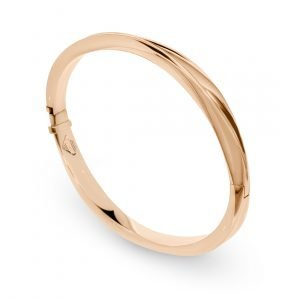 ENTWINED BANGLE ROSE GOLD_A