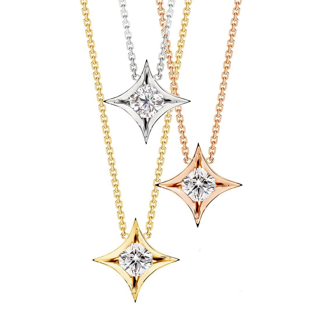 Nova Medio Diamond Pendant