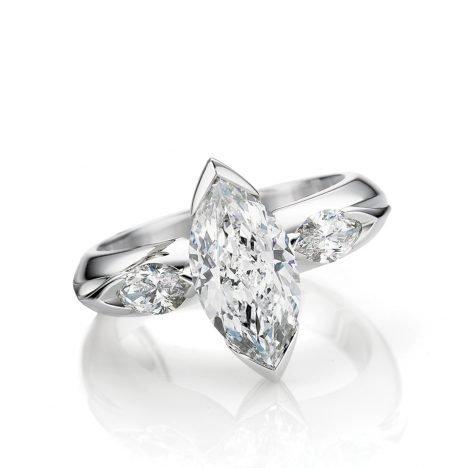 Angel Diamond Ring