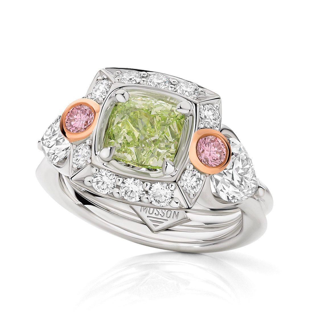 Giverny Couture Coloured Diamond Ring