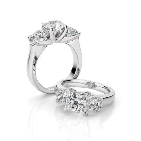 Teiza Trilogy Couture Diamond Ring