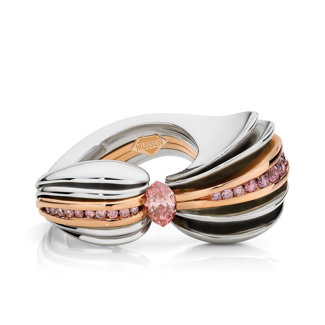 Ariel Argyle Pink Diamond Ring