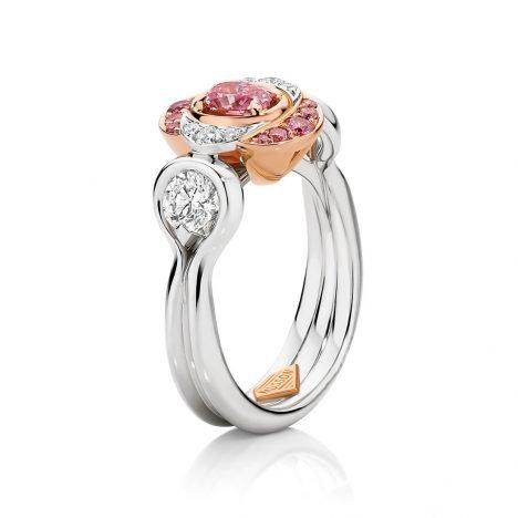Isabelle Argyle Pink Diamond Ring