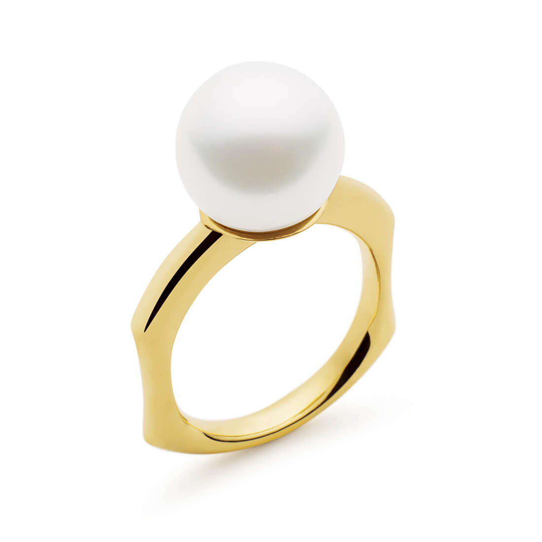 Faith Ring, Yellow Gold