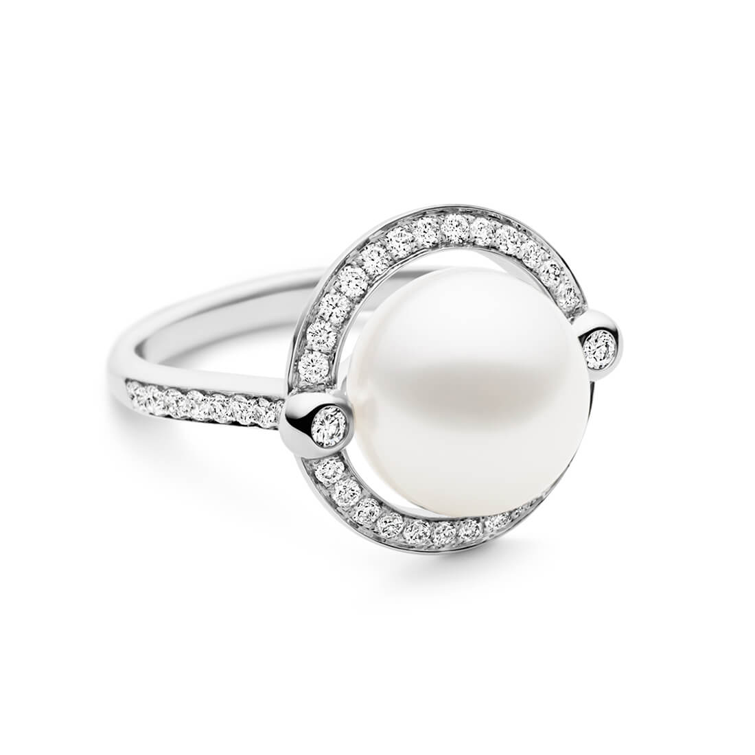 Divine Ring, White Gold