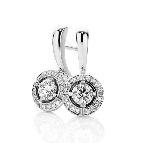 Sun Struck Diamond Drop Earrings