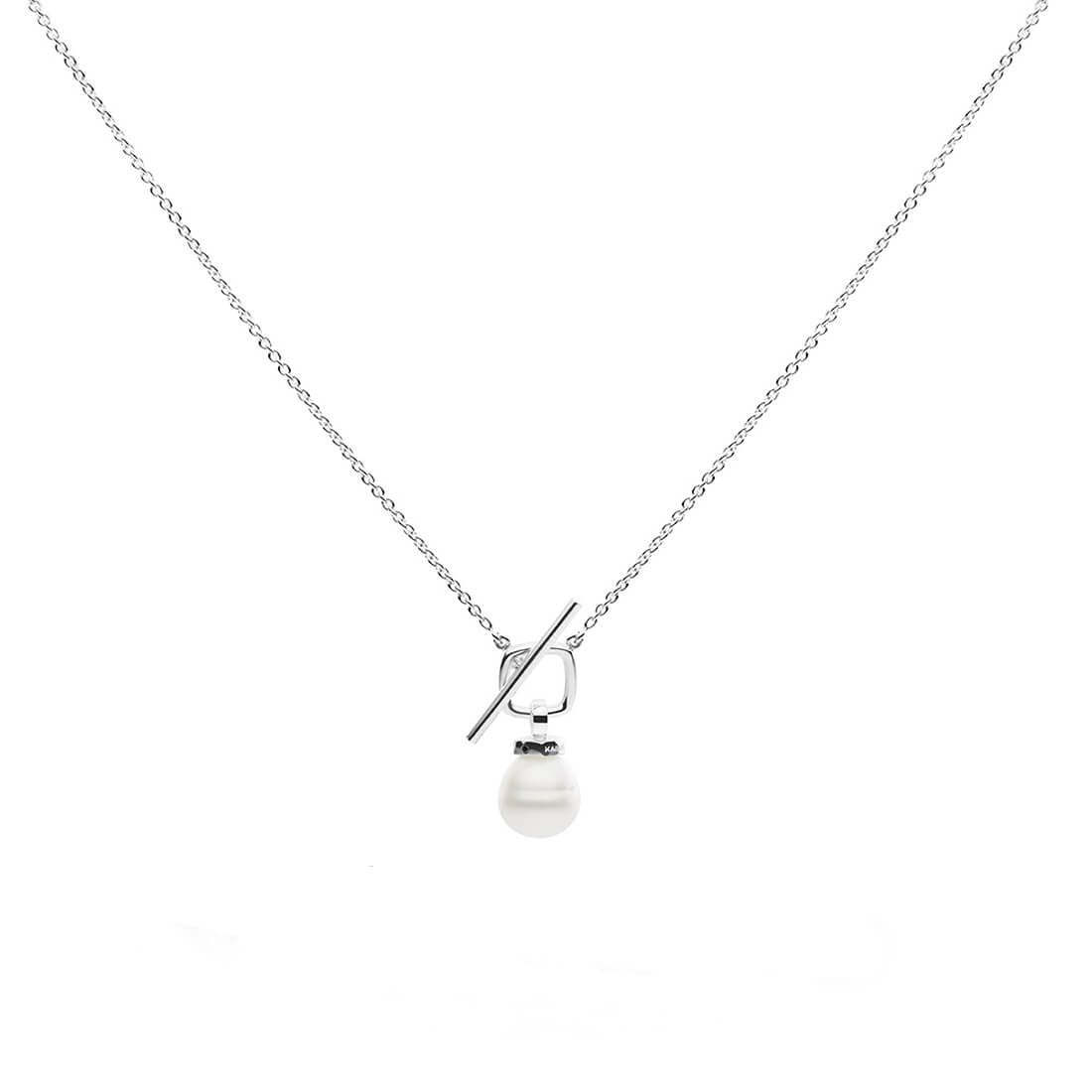 Kailis - T-Bar Pearl Necklace