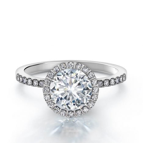 Centre of My Universe DeBeers Forevermark Diamond Ring