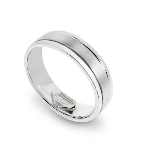 Banister Gents Wedding Ring