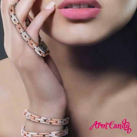 Limited Edition Argyle 'Arm Candy' Bracelet