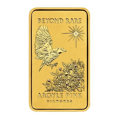 The Limited Edition 2015 'A Flight of Fantasy' One oz 24 carat gold Ingot