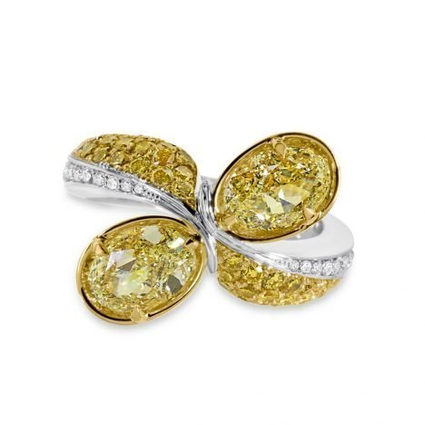 Paradise Jaune Ellendale Yellow Diamond Ring