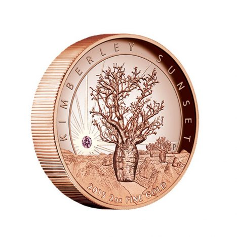 Limited Edition 2015 Kimberley Sunset Coin