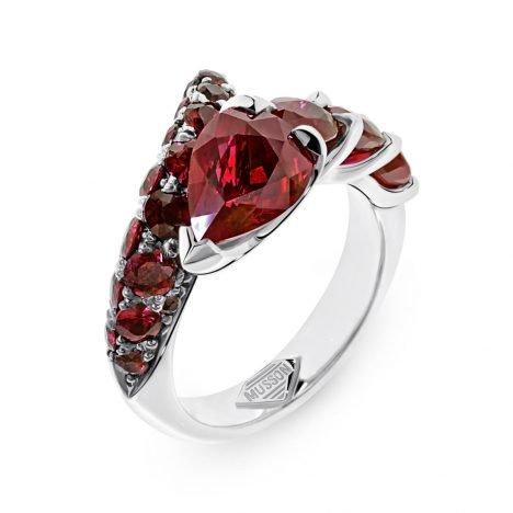 R33926 Sara Ruby Ring