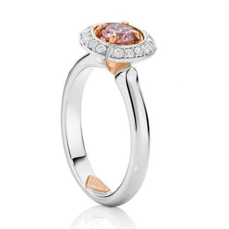 Sun Struck Argyle Pink Diamond Ring