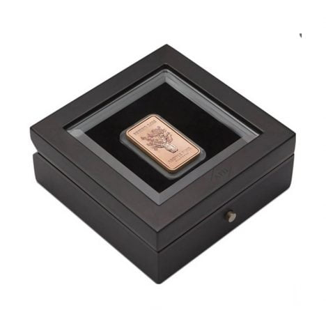 The Limited Edition 2013 'Boab Tree' One oz 22 carat pink gold Ingot