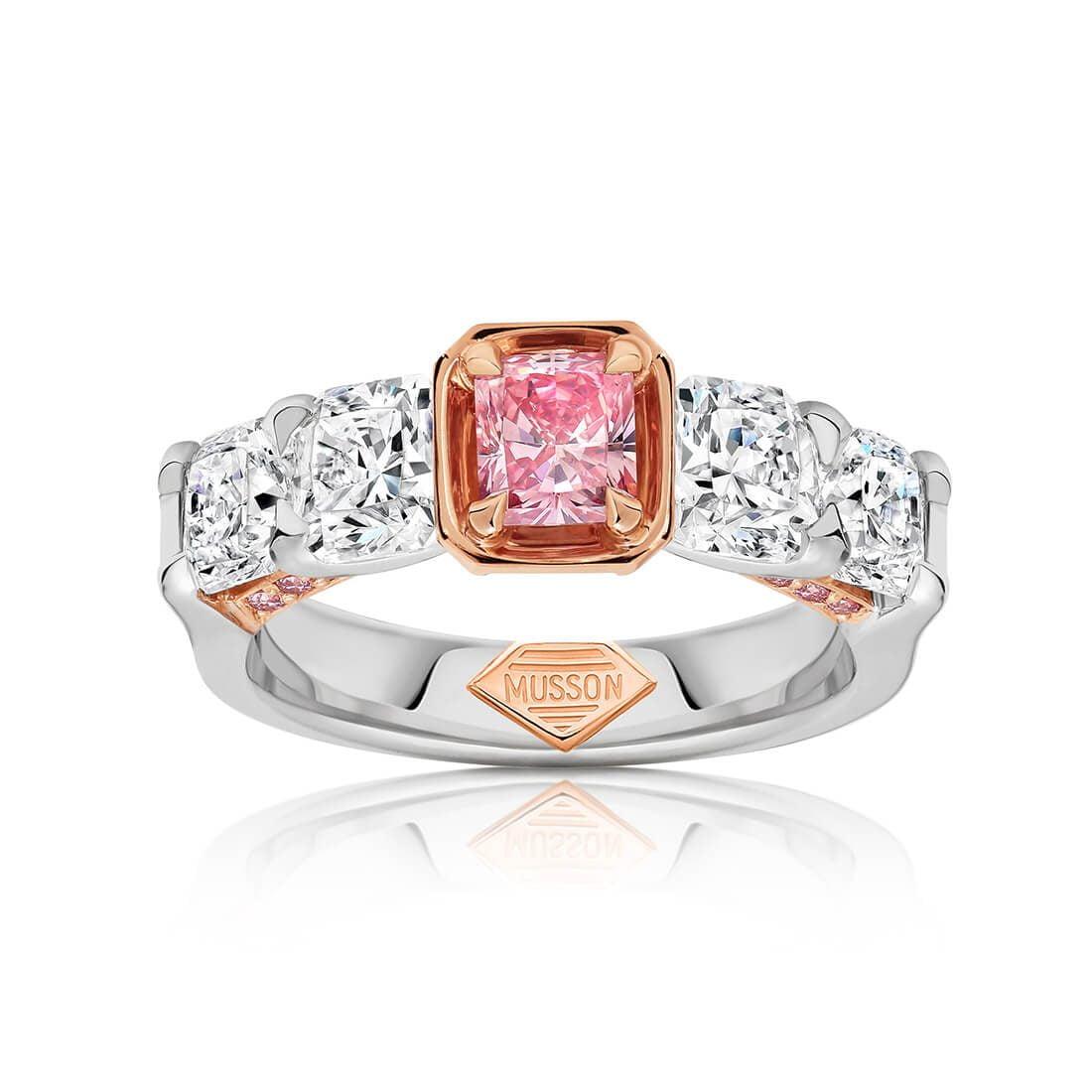 Lucinda Argyle Pink Diamond Ring