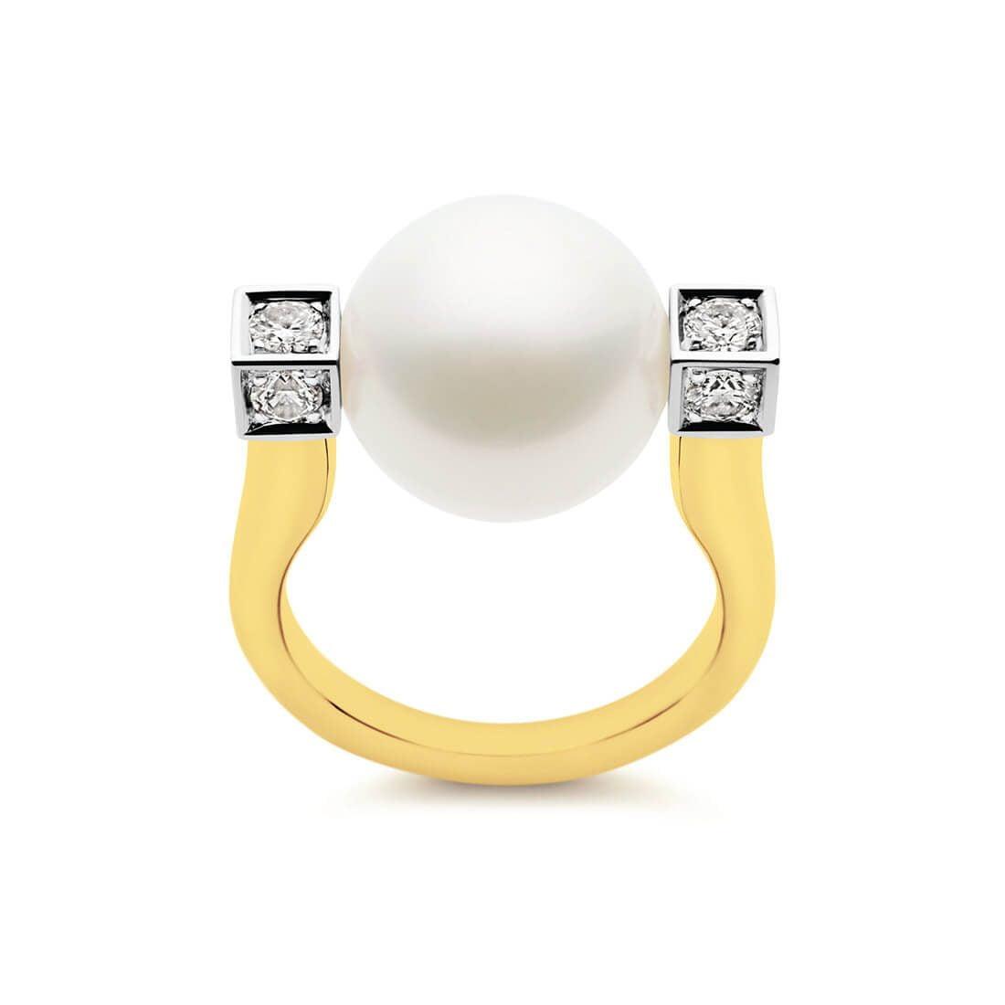 Kailis - Luna Ring, Yellow Gold