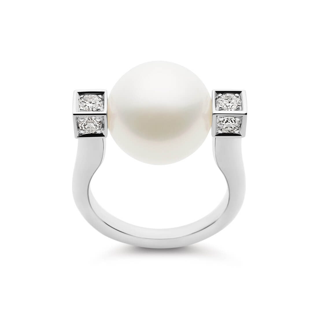 Kailis - Luna Ring, White Gold