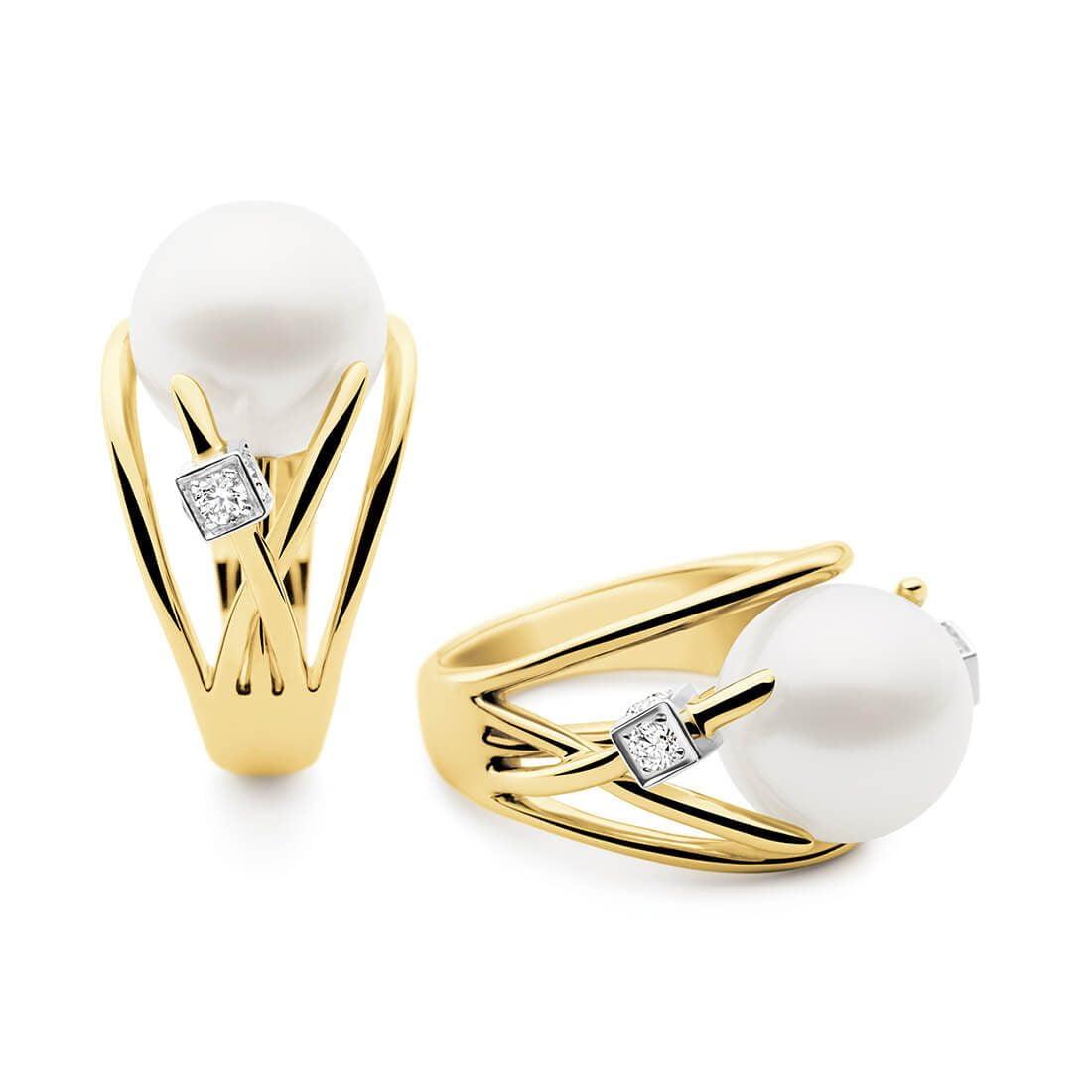 Kailis - Ethereal Orbit Ring, Yellow Gold