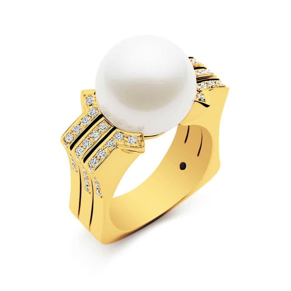 Kailis - Metropolis Ring, Yellow Gold