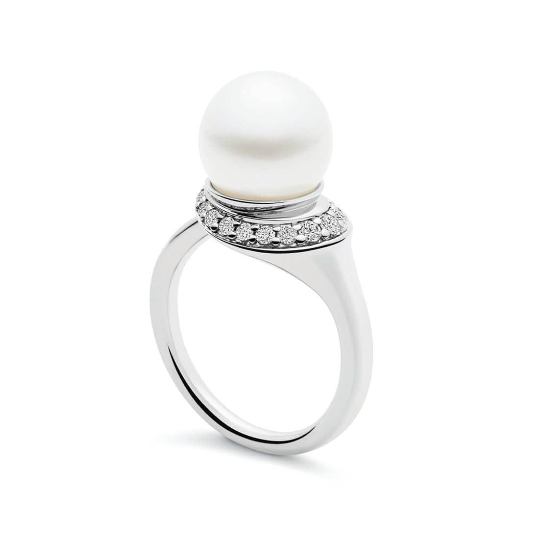 Kailis - Swan Ring, White Gold