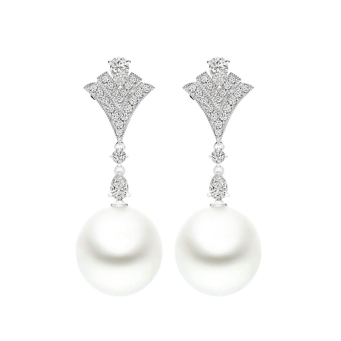 Kailis - Charleston Drop Pearl Earrings