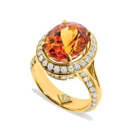 Sun Struck Couture Mandarin Garnet Ring
