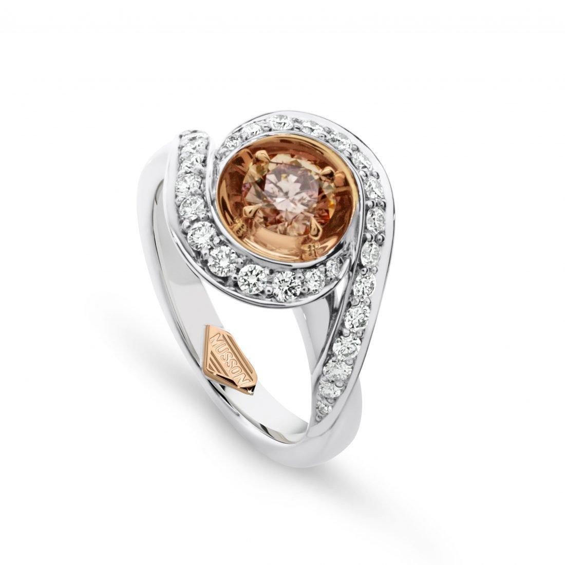 Lian Argyle Pink Diamond Ring