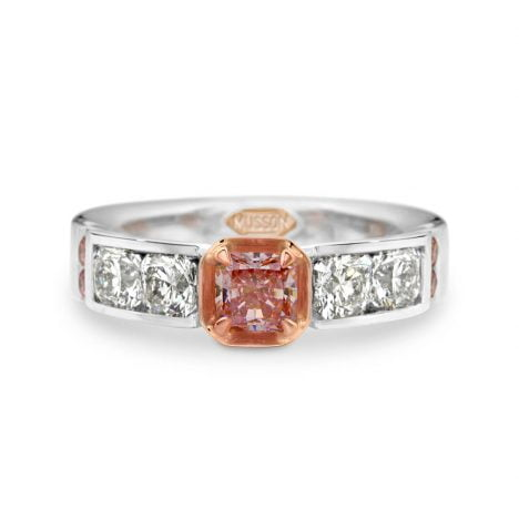 Harbour Bridge Argyle Pink Diamond Ring