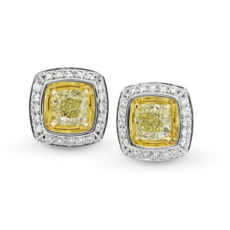 Sun Struck Couture Ellendale Yellow Diamond Earrings
