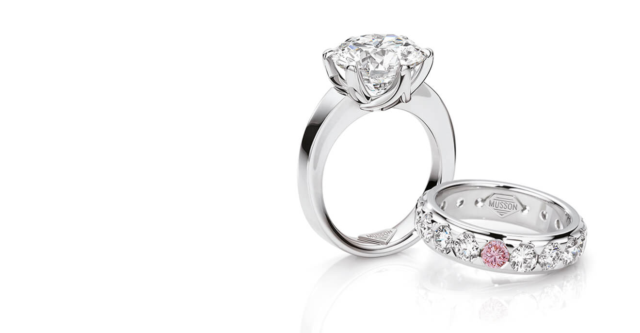 Difference Between Engagement And Wedding Ring.Musson Jewellers Diamond Jewellery Sydney Engagement Rings