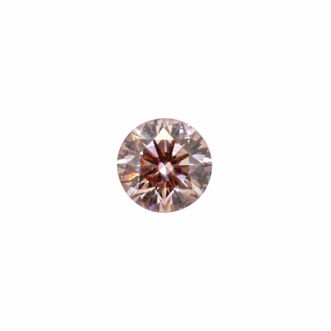 0.18ct Natural Fancy Light Pink, 7P Argyle Diamond