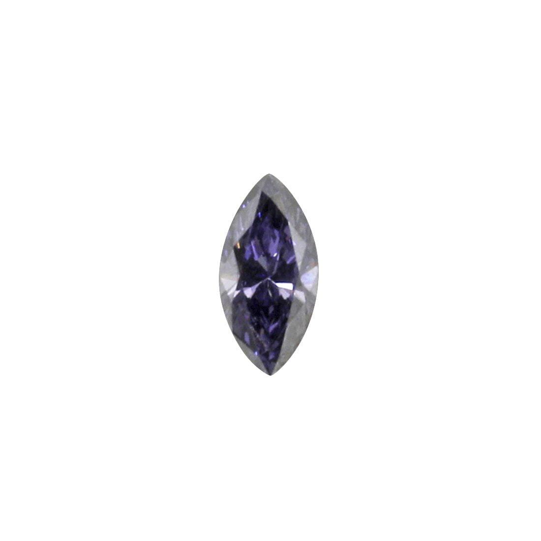 0.10ct Natural Fancy Deep Violetish Blue Argyle Diamond