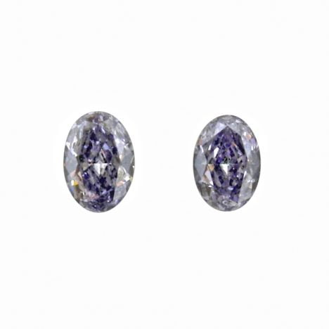 2=0.22ct Natural Fancy Intense Greyish Blue BL2+ Argyle Diamond