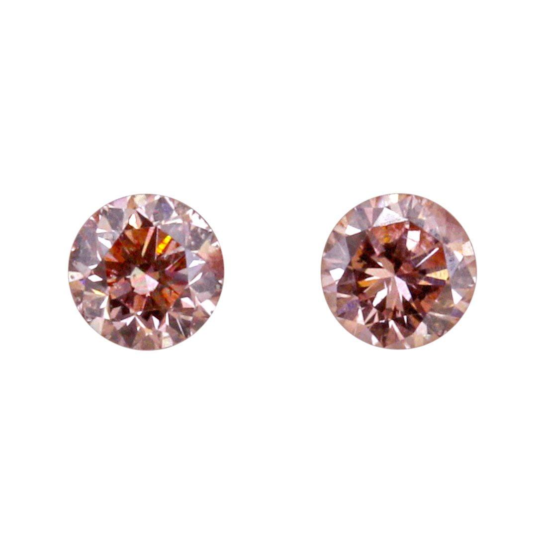 2=0.43ct Natural Fancy Deep, Pink 6PR Argyle Diamonds