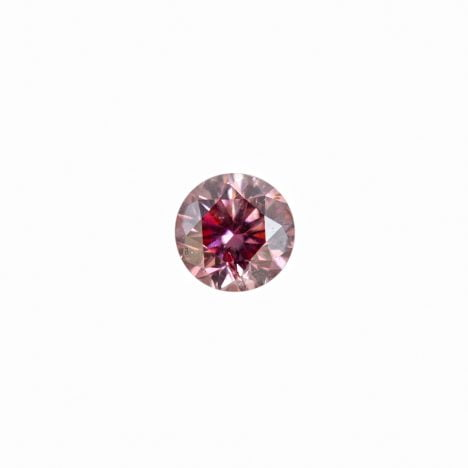 0.14ct Natural Fancy Intense Pink Argyle Diamond
