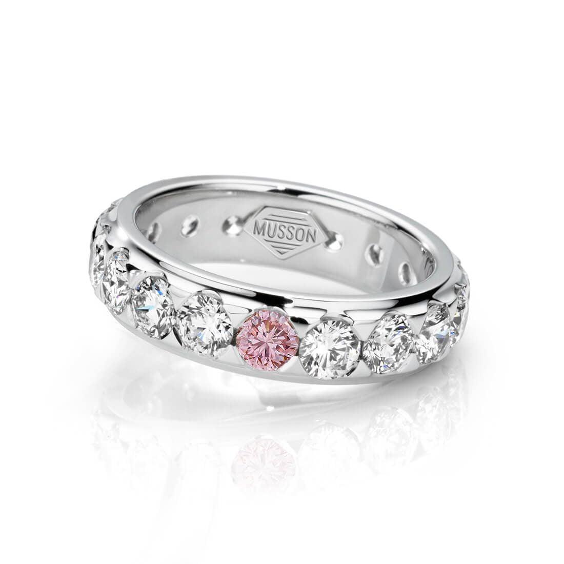 Endless Argyle Pink Diamond Ring
