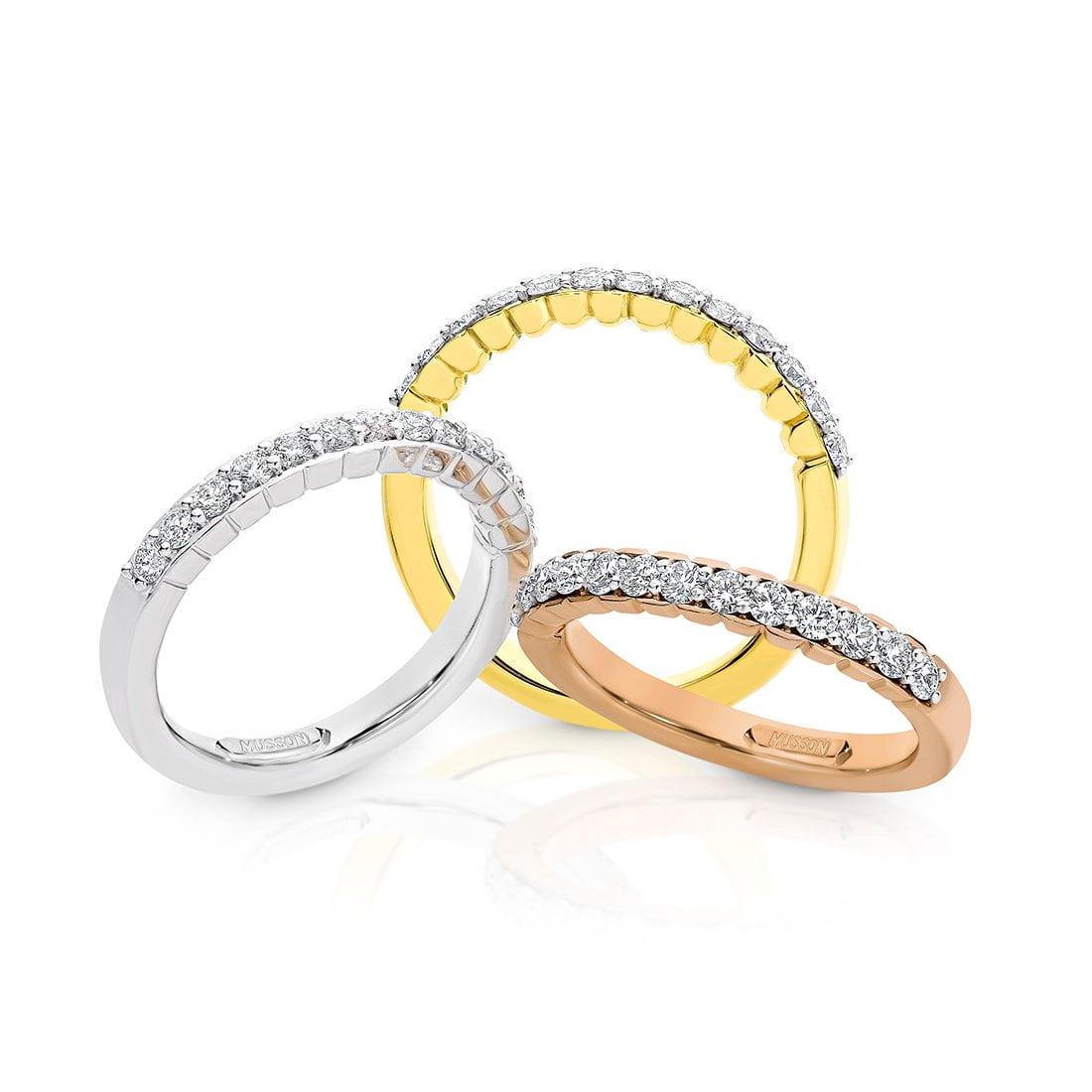 Adore Petite Pink Diamond Ring