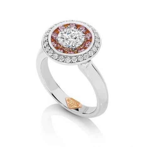 Lucerna Argyle Pink Diamond Ring