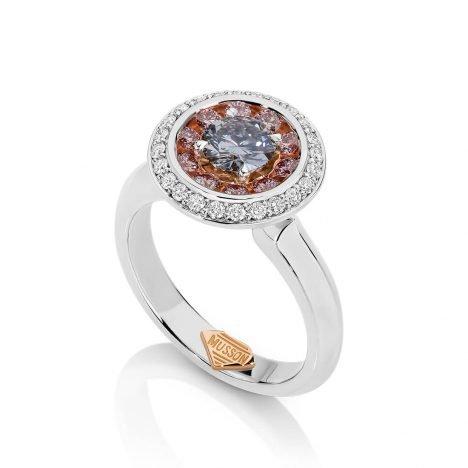 Lucerna Argyle Blue Diamond Ring