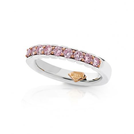 Adore Couture Argyle Pink Diamond Rings